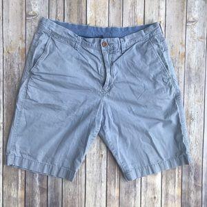 J. Crew Men's Grey 'Club Short' Shorts Size 33